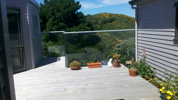 Deck completed in Newlands